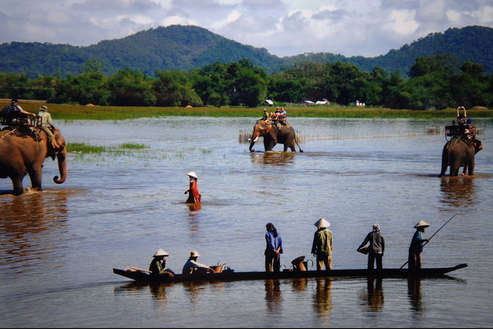 Lak Lake in Buon Ma Thuot